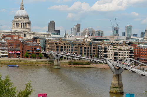 View from the Tate Modern - London