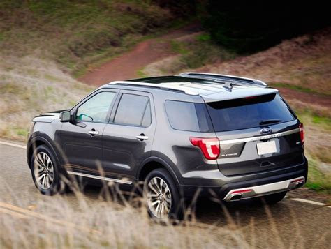 ford explorer ratings   diesel  release