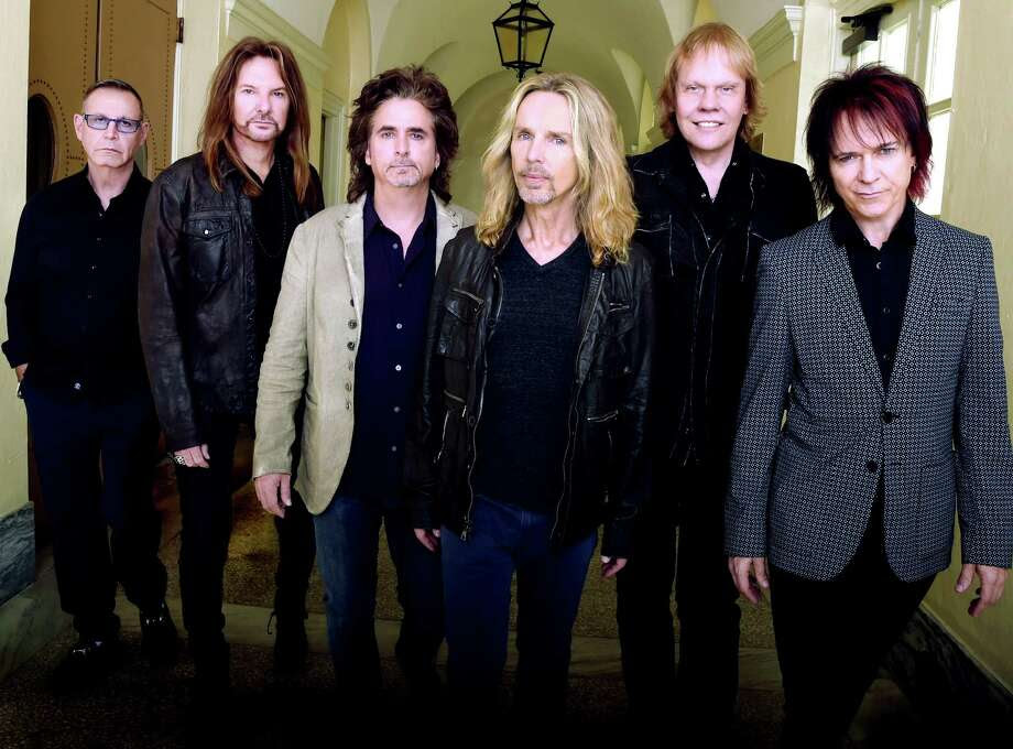 Styx has teamed up with hearing-aid manufacturer Oticon to stream the first live rock concert directly to hearing-aid wearers. Their Aug. 22 concert will be live-streamed to Opn hearing aid wearers. Photo: Rick Diamond, Staff / 2014 Getty Images