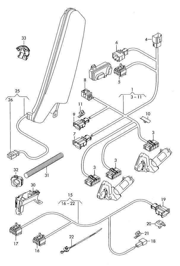 Audi A3 Sportback Electrical Wiring Diagram