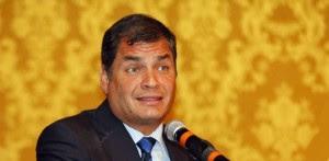 El presidente de Ecuador, Rafael Correa, no acepta oposición política ni posiciones adversas; mucho menos la libertad de expresión. (Ecuavisa)