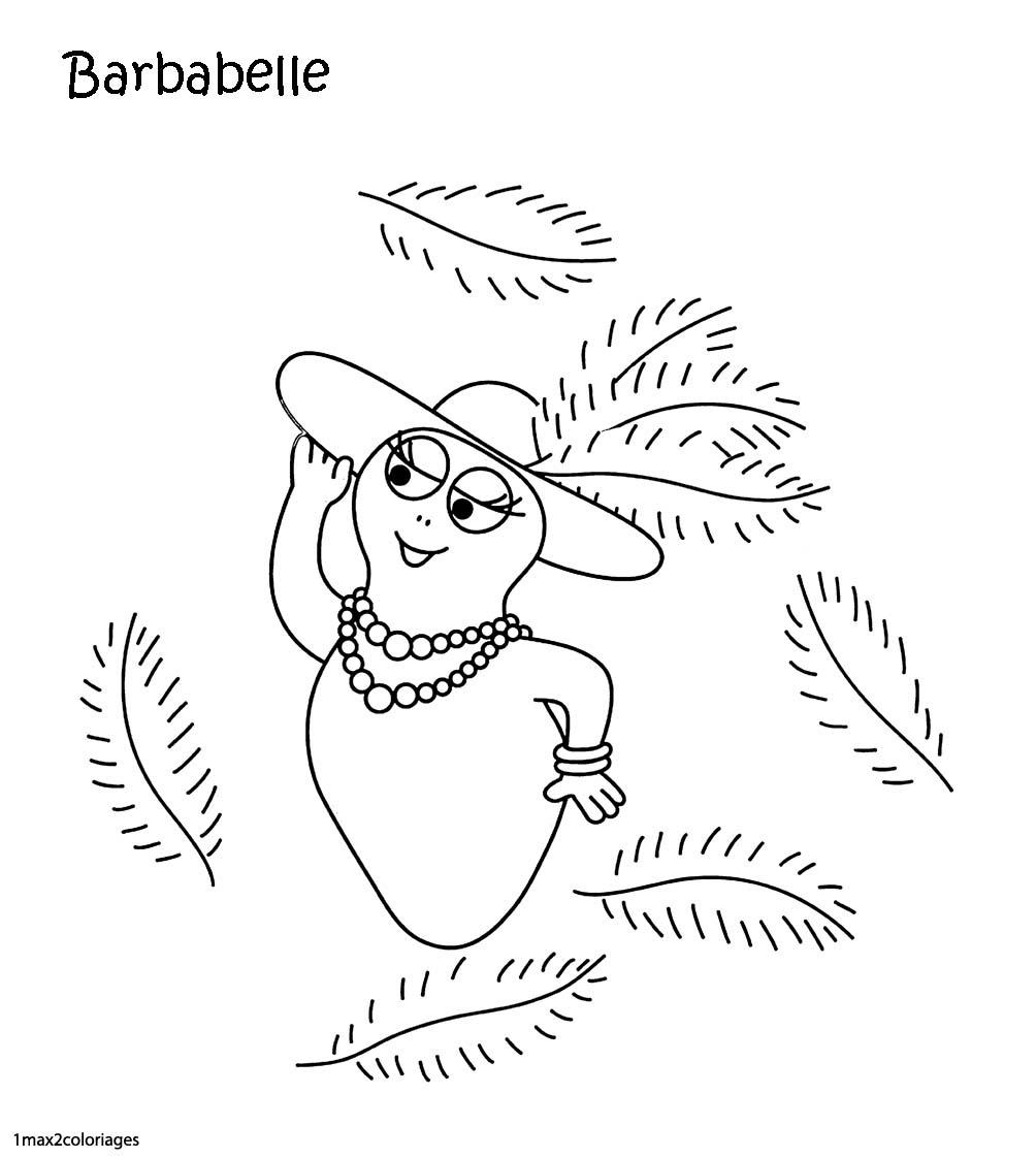 Coloriage Barbe A Papa Gratuit | Imprimer et Obtenir une ...