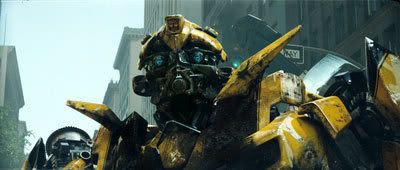 Bumblebee in the city.