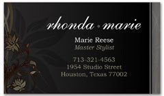 BCS-1003 - salon business card