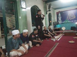 Ketua Umum LMPP Saat Memberikan Sambutan di Acara Pengajian dan Penyerahn SK MAC LMPP Se Jakarta Selatan, Sabtu (14/3/2020)