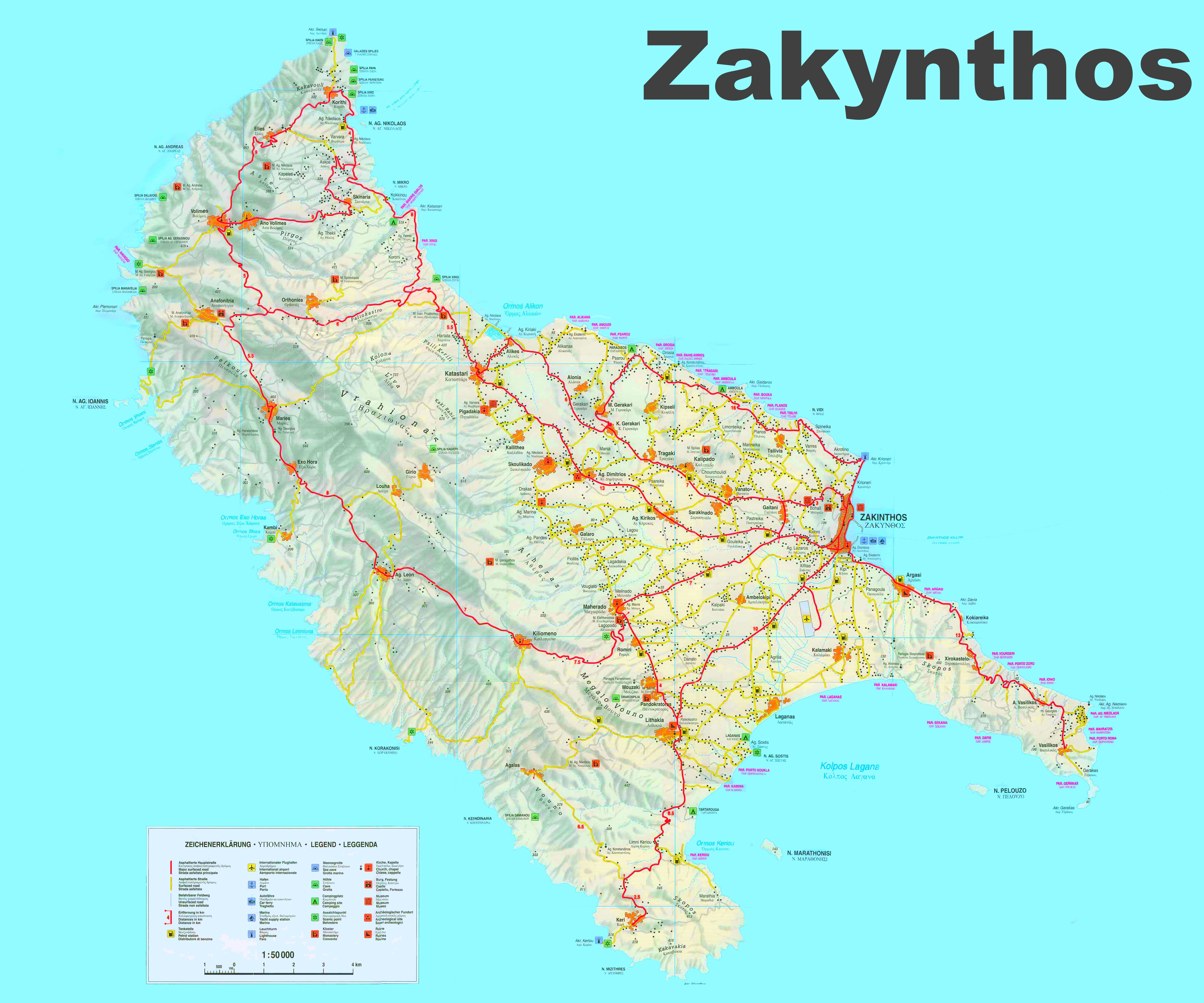Greece Tourist Attractions Map - Attractions Near Me on