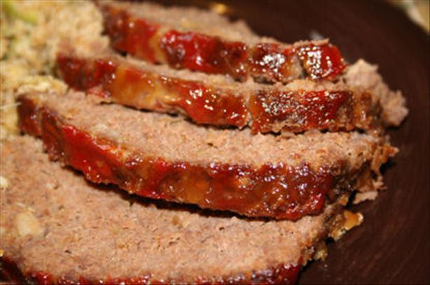Glazed Meatloaf Reci