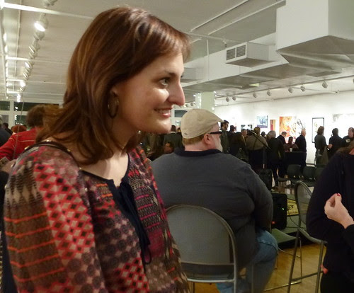 Lauren Buscemi, San Diego art critic @ Artspace Shreveport by trudeau