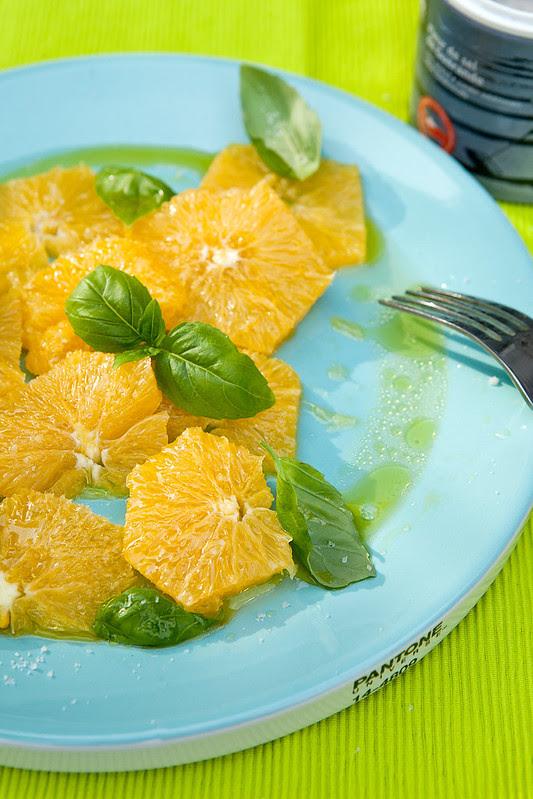 sinaasappeldessert