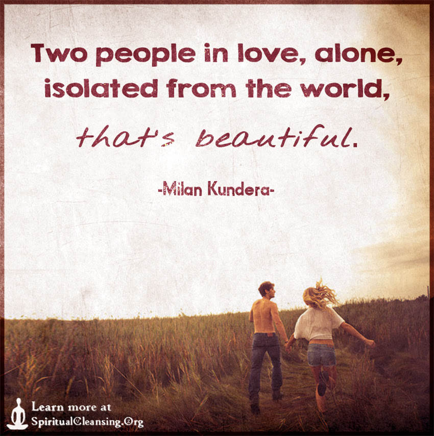 Two People In Love Alone Isolated From The World Thats Beautiful