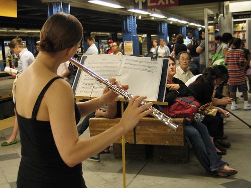 Flautist, NYC