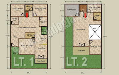 94 Gambar Rumah Minimalis 2 Lantai 6 X 10 HD Terbaru