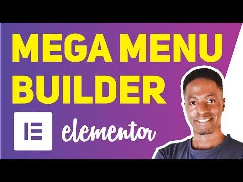 Mega Menu Builder For Elementor
