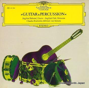 BEHREND, SIEGFRIED guitar&percussion