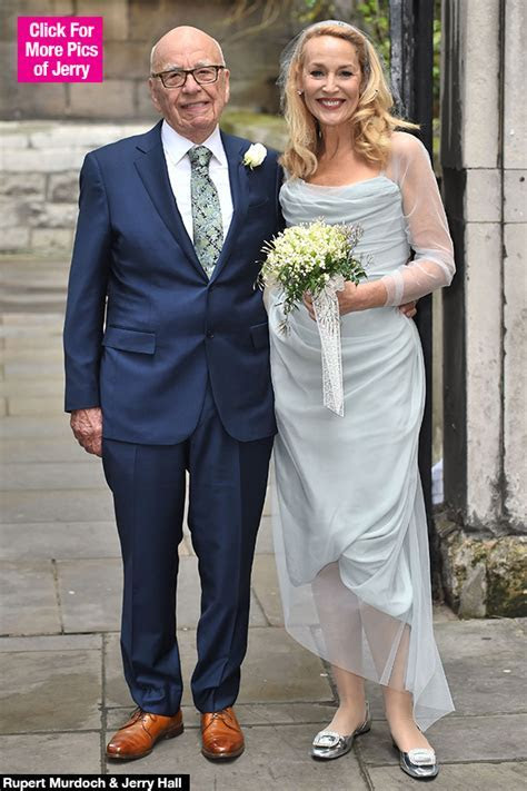 [PIC] Jerry Hall Wedding Dress: Blue Vivienne Westwood To