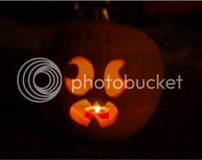 Connors jackolantern Halloween 2010