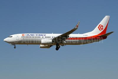 OKAir (Okay Airways Company) Boeing 737-86N WL B-5843 (msn 38042) PAE (James Helbock). Image: 913304.