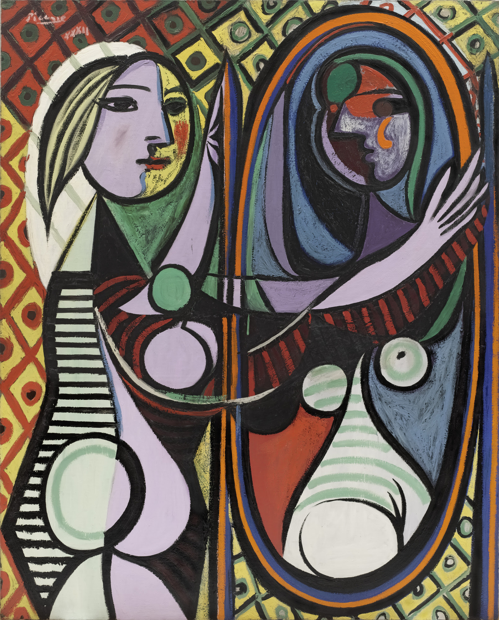 Pablo Picasso Girl Before A Mirror Paris March 14 1932 Moma