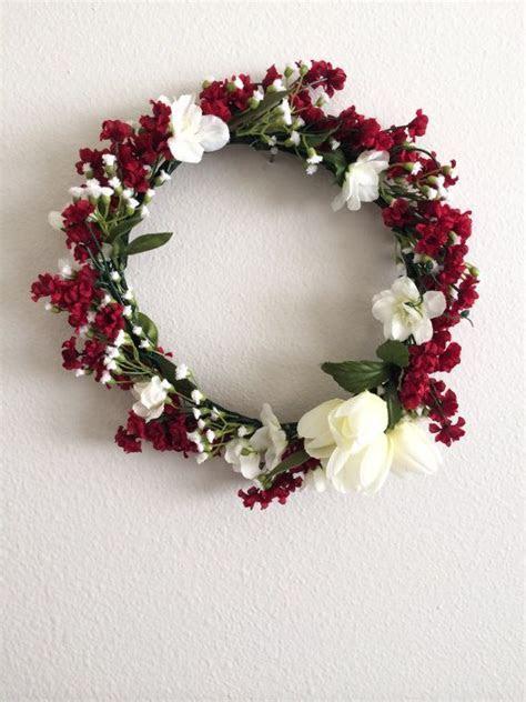 Best 25  Red flower crown ideas on Pinterest   Ranunculus