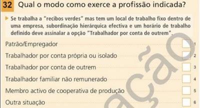 """Censos2011: acção judicial para substituir pergunta que """"encobre falsos recibos verdes"""""""