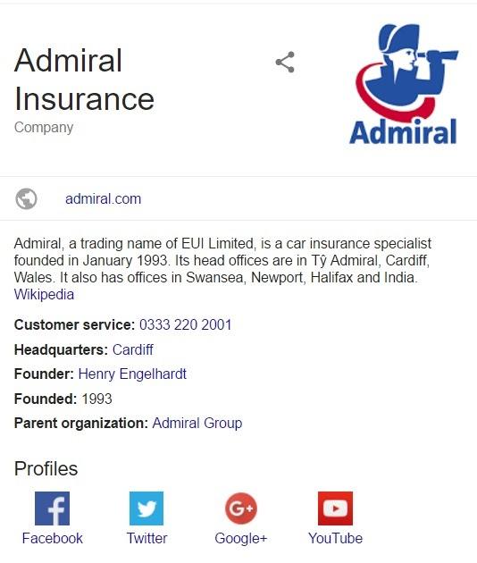 Admiral Car Insurance Contact Number Uk - Car Insurance ...