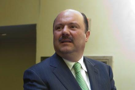 César Duarte, gobernador de Chihuahua. Foto: Octavio Gómez