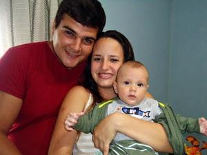 Família descobriu doença quando bebê estava com seis meses.  (Foto: Ivo Prevatto/Arquivo pessoal)