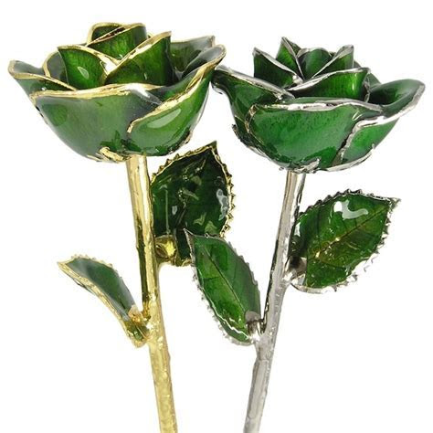 May Birthday Rose Gift: Emerald Green Rose: Love Is A Rose