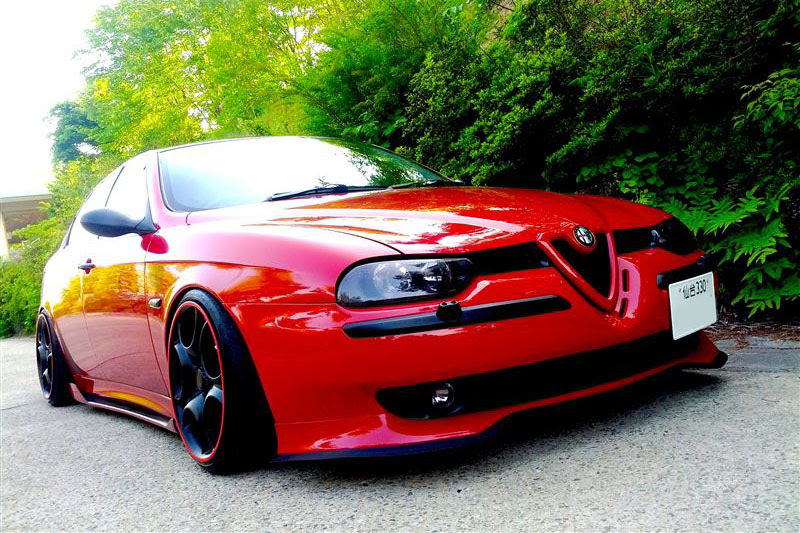 By Popular Demand : Japantuned Alfa 156  Speedhunters