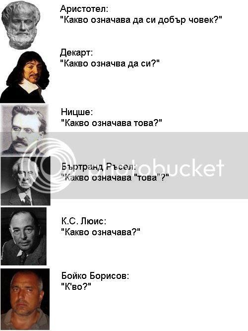 Бойко Борисов философ