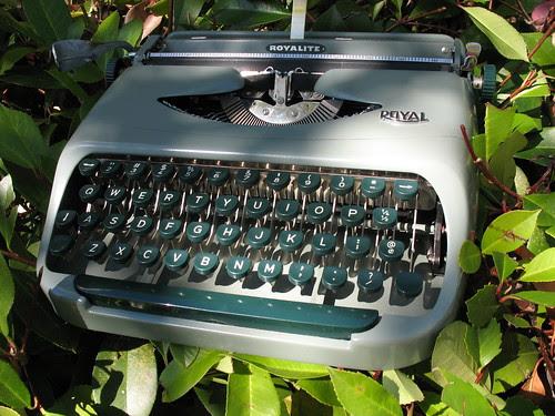 """""""Kermit"""", Royal Royalite typewriter, c1958"""