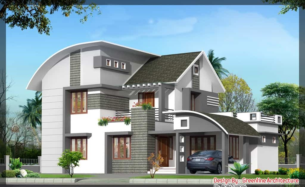 Home design home design trends 2015 for Modern kerala style house plans with photos