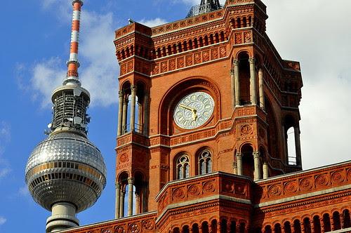 Rote Rathaus am Alexanderplatz