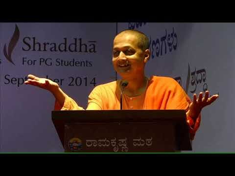 SELF MANAGEMENT   --Swami Sarvapriyanandaji--