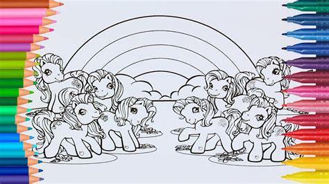 ausmalbilder ausdrucken my little pony - kostenlose malvorlagen ideen
