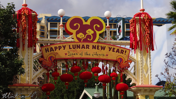 Disneyland Resort, Disney California Adventure, Paradise Pier, Lunar New Year, 2014, Horse