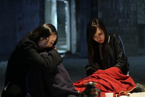 [Exhalation] Naoko (Kiki Sugino) and Sayuri (Tomoe Shinohara) brooding