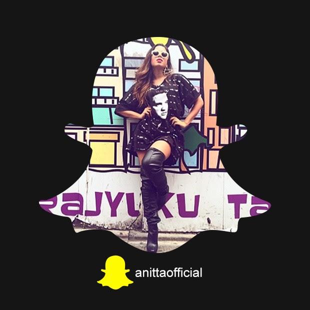 Snapchat Anitta (Foto: QUEM)
