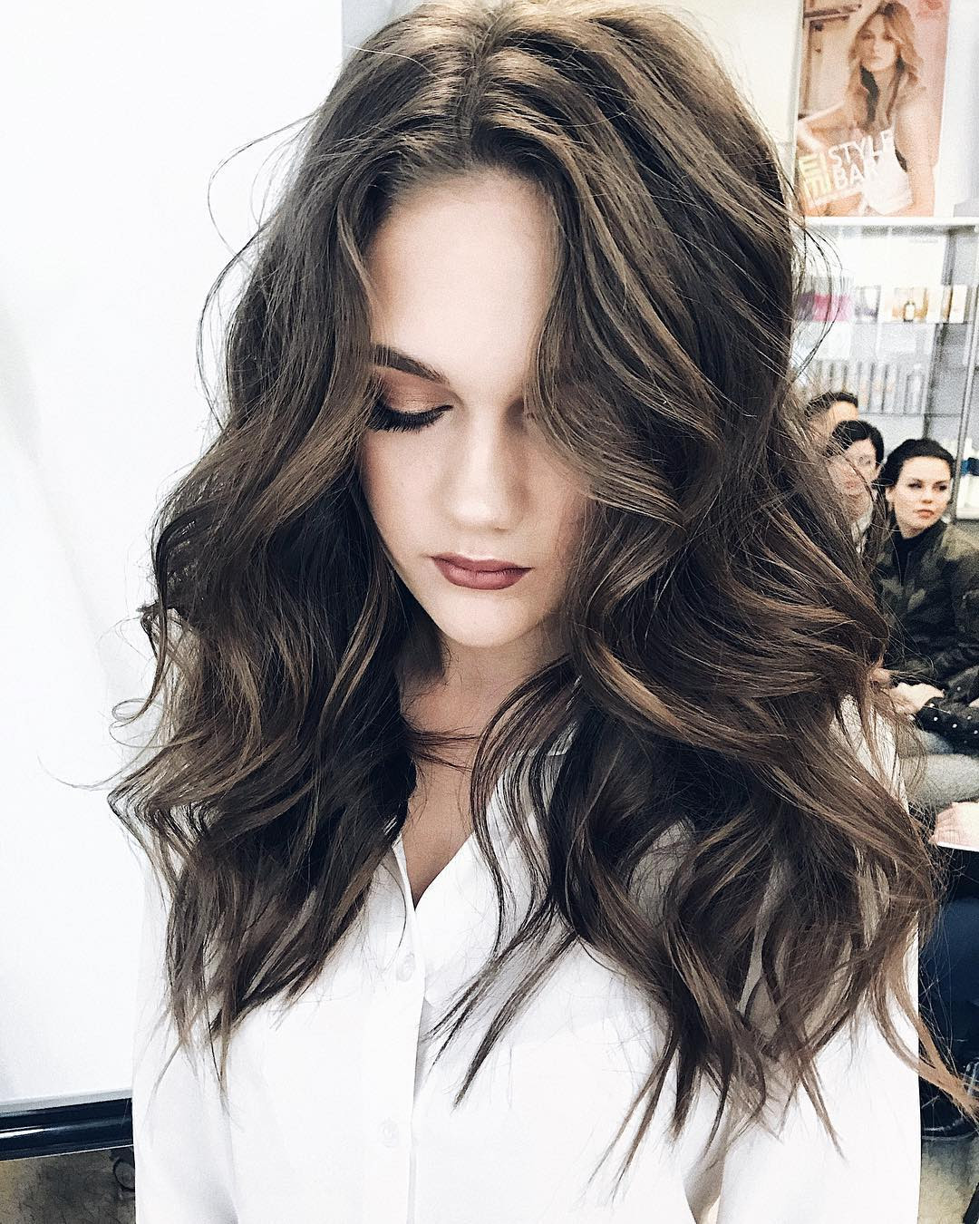 10 Gorgeous Long Wavy Perm Hairstyles Long Hair Styles 2018 2019