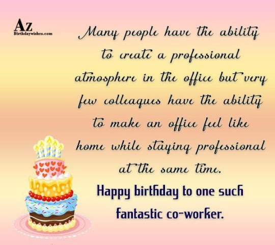 birthday wishes professional employee happy birthday birthday wishes