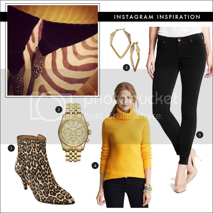 leopard booties, what to wear shopping, what to wear work, michael kors watch, skinny cords, skinny jeans, nordstrom sale, chunky sweater, turtleneck sweater