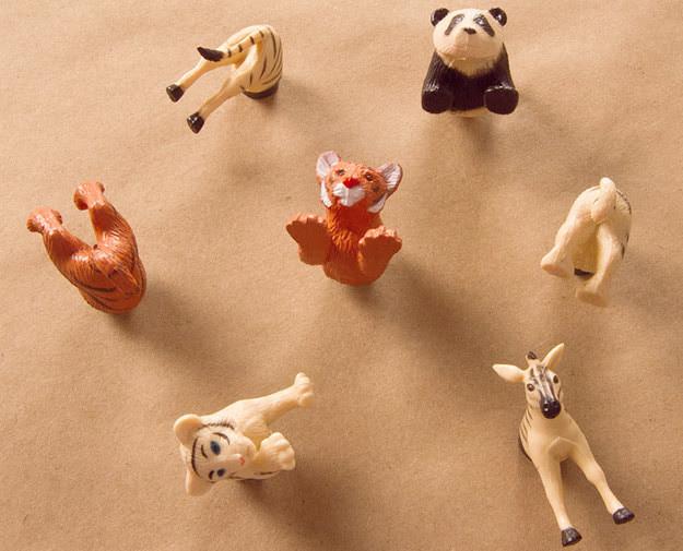 34. Магнитики с животными дети, поделки, своими руками, сделай сам, творчество