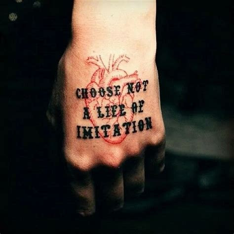 pin marian becker tattoos typography tattoo good