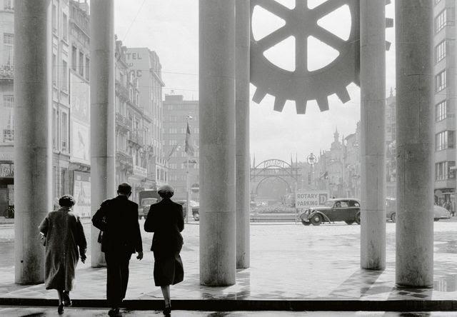 Die Schwelle für einen Beitritt ist heute vielen zu hoch: Rotary Club in Frankreich (um 1956).<br />Foto: Three Lions, Getty Images