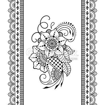 Conjunto De Fronteras Para El Diseño Y Aplicación De La Henna