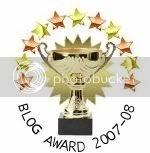 Blog Recognition: Thanks!