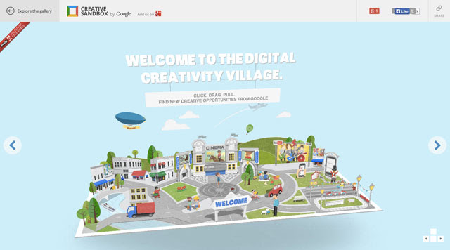 Google Creative Sandbox