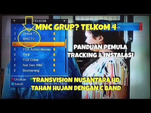 Update Channel dan Transponder Telkom 4 Terbaru April 2020