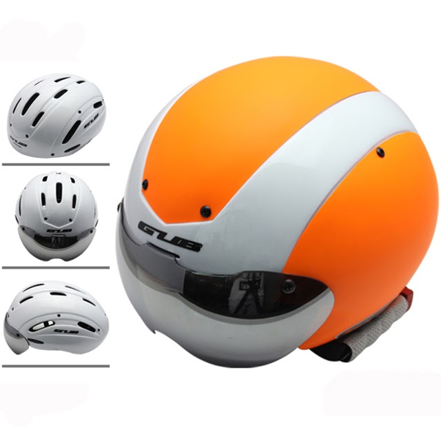 5331fad1d Cycling Eyewear  Price comparisons Of GUB Time Trail Racing Bicycle helmet  Multi-function 13 air vent goggle Cycling Helmet road bike sports in-mold  Cascos ...