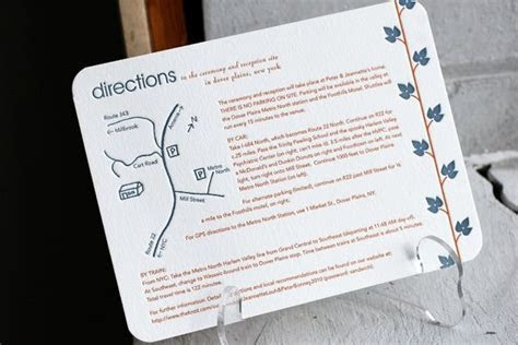 Direction Cards   Bella Figura